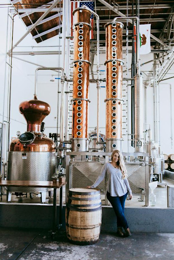 Caley Shoemaker, the woman who puts the flavor in fog