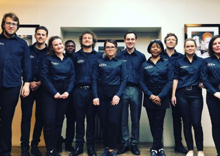 Staff at the London Competitions