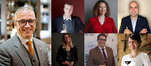 World's leading trade buyers, Master Sommeliers and Master's of Wine