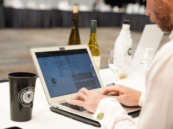 Judging event of the 2021 Sommeliers Choice Awards