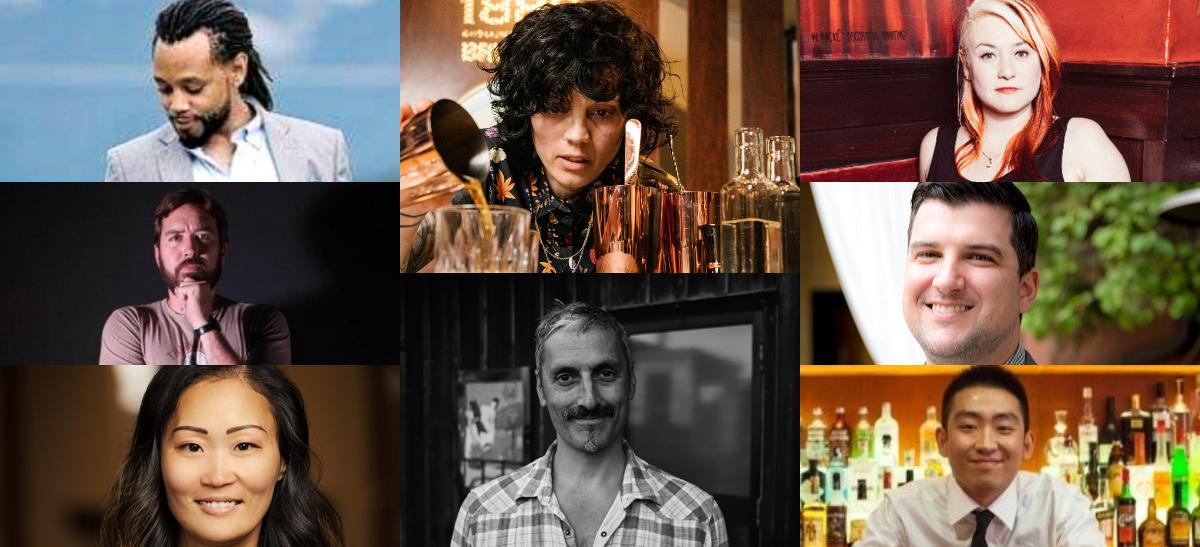The judging panel of the Bartender Spirits Awards