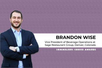 Photo for: In Conversation with Brandon Wise, Vice President of Sage Restaurant Group