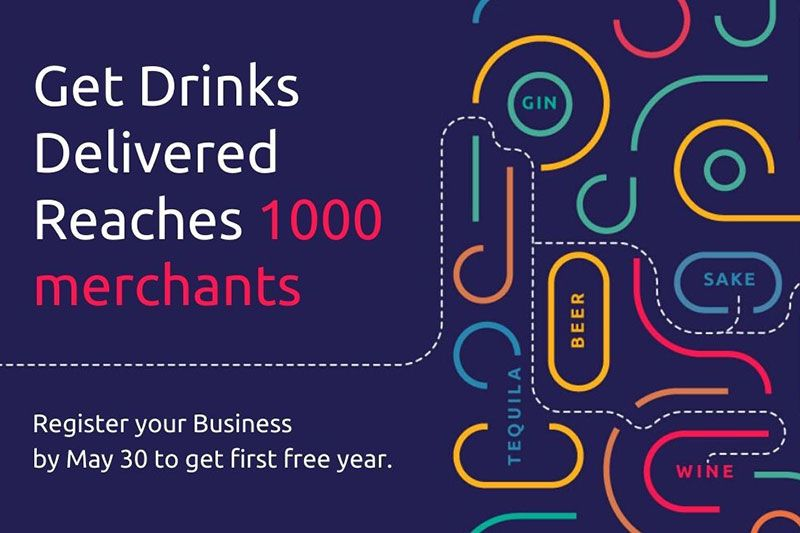 Photo for: Get Drinks Delivered Reaches 1000 Merchants