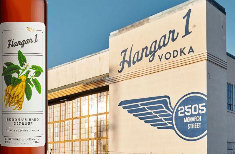 Photo for: Proximo Spirits Hangar 1 Buddha's Hand Citron Scores Vodka Of The Year