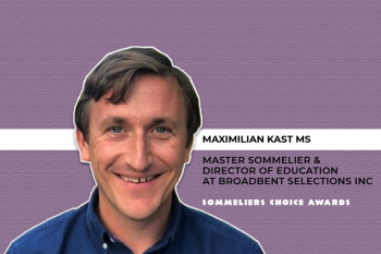 Photo for: Maximilian Kast MS Joins Judging Panel of the 2021 Sommeliers Choice Awards