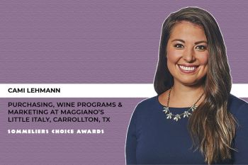 Photo for: Sommeliers Choice Awards 2021 Welcomes Cami Lehmann to the Judging Panel