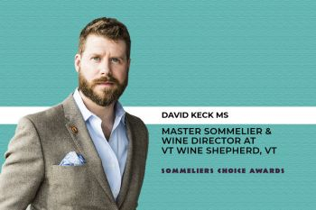 Photo for: David Keck MS Joins the Judging Panel at the Sommeliers Choice Awards 2021