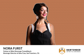 Photo for: Bartending Entrepreneur Nora Furst Joins Bartender Spirits Awards Judging Panel