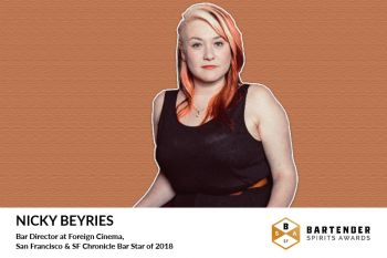 Photo for: Bar Star Nicky Beyries Joins Bartender Spirits Awards Judging Panel