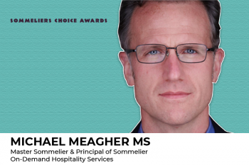 Photo for: Michael Meagher MS to join the judges at the 2021 Sommeliers Choice Awards
