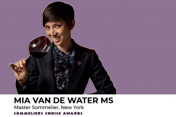 Photo for: Mia Van de Water MS joins the judging panel at the 2021 Sommeliers Choice Awards