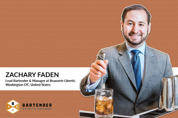 Photo for: Zachary Faden, Bartender extraordinaire, and historian joins the 2021 Bartender Spirits Awards judging panel